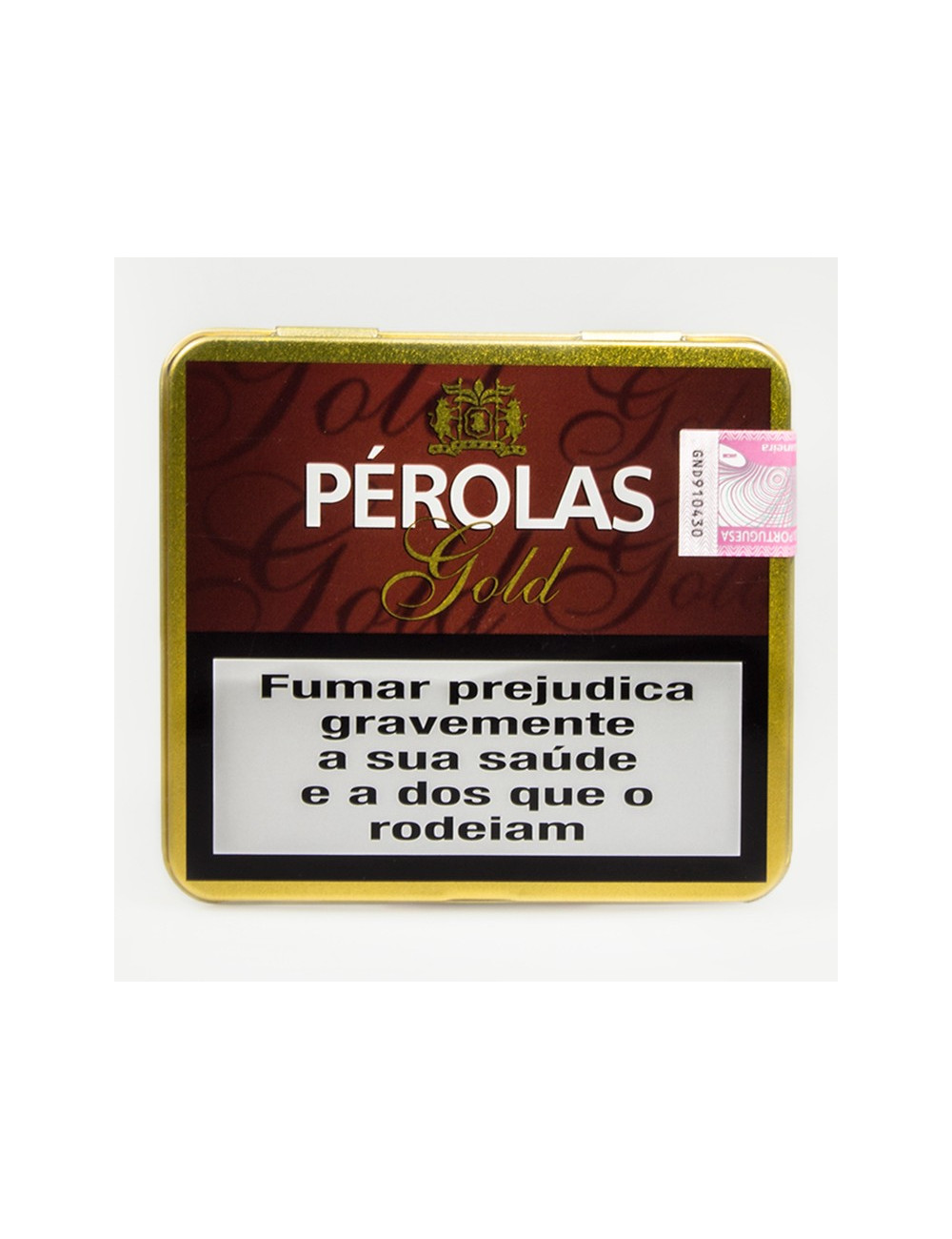 "Cigarrilhas ""Pérolas Gold"""
