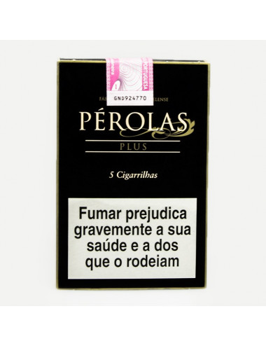 "Cigarrilhas ""Pérolas"" (Plus)"