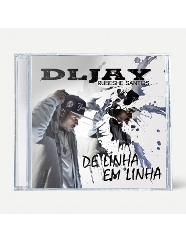 """DL Jay  """"De Linha em Linha"""" (CD)"""
