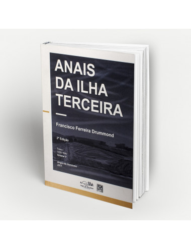 """Anais da Ilha Terceira"" - Vol. V"