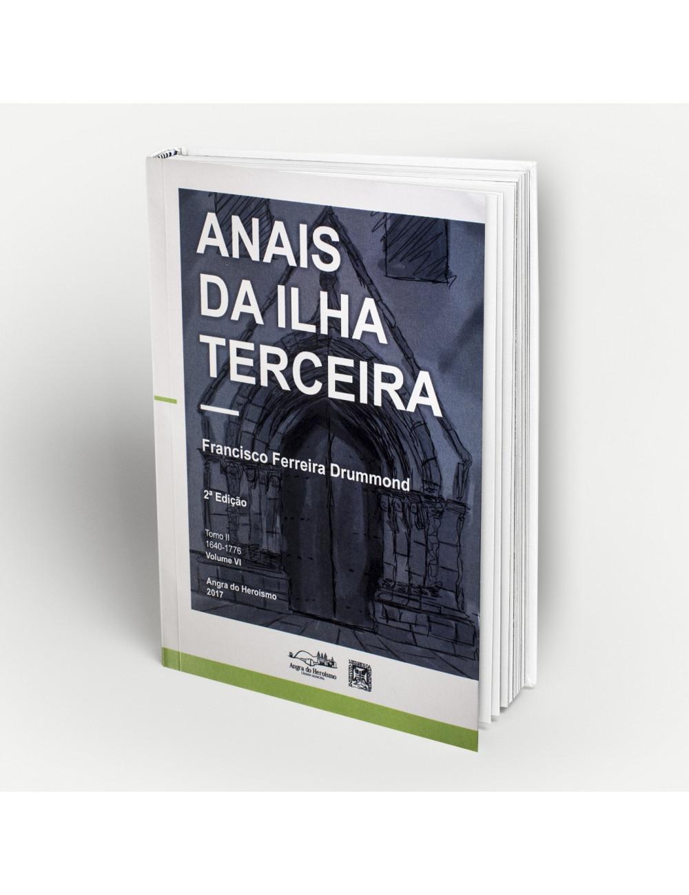 """""""Anais da Ilha Terceira"""" - Vol. VI"""