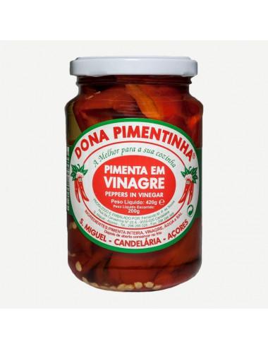 Pimenta em Vinagre