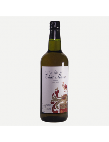 """Vinho licoroso """"Chico Maria"""" (Meio Seco) Casa Agrícola Brum 750ml"""