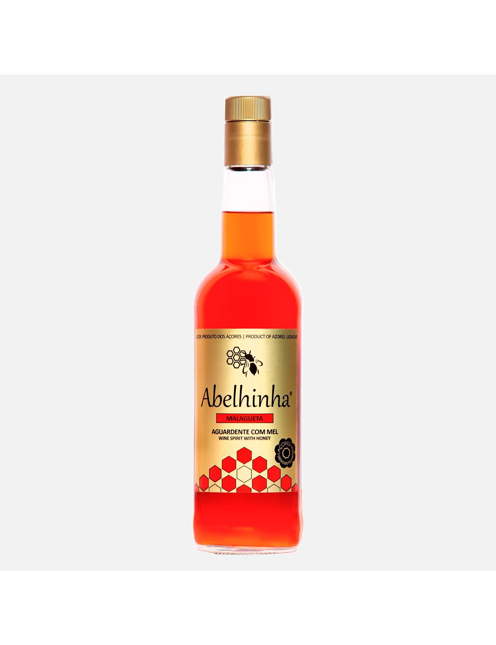 """Licor de Mel """"Abelhinha"""" Malagueta"""