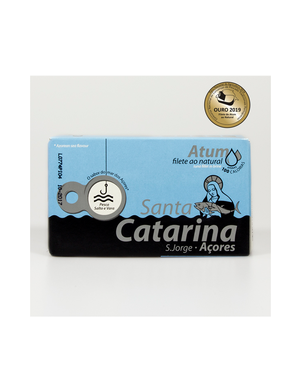 Filetes de Atum ao Natural Santa Catarina 120g