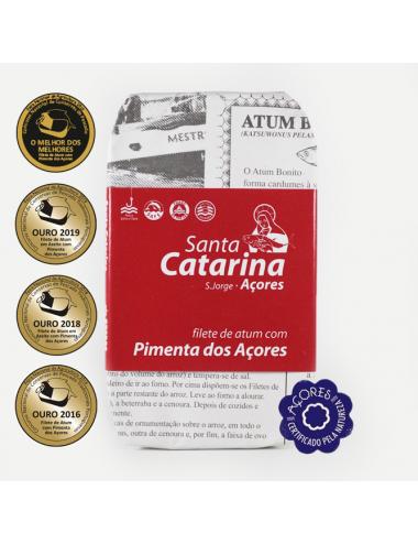 Filete de Atum com Pimenta dos Açores