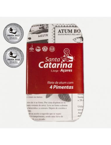 Filetes de Atum com 4 Pimentas
