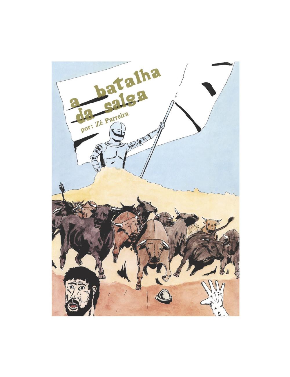 A Batalha da Salga - (Banda Desenhada)